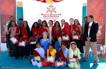 The Second Annual Convocation and Mela of Kala Raksha Vidhyalaya!