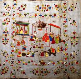 Splendor of Pahari Embroidery