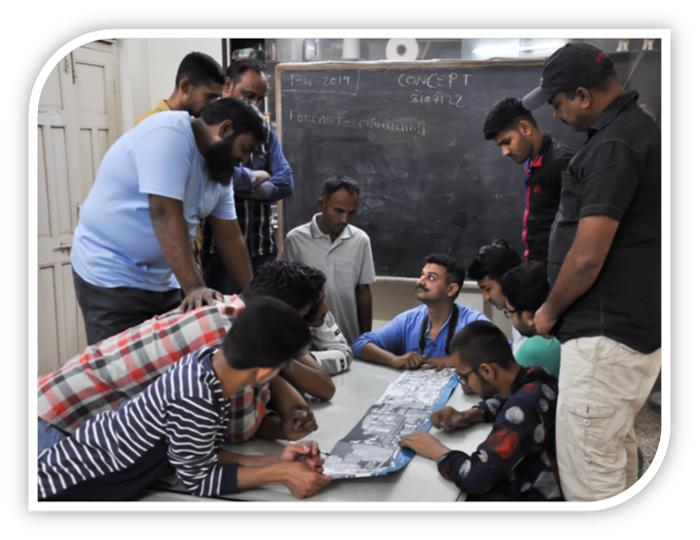 Teaching Traditional Artisans at Somaiya Kala Vidya