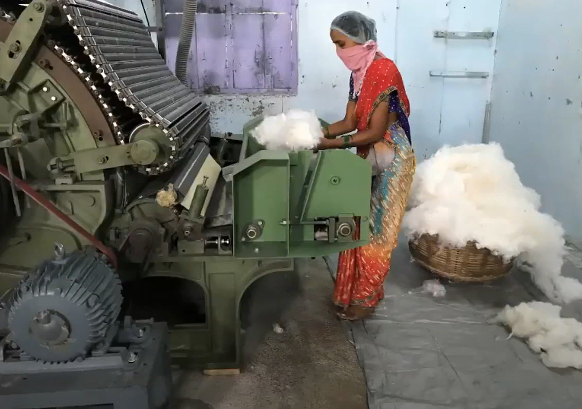 Gandhian Science in the Indian Cotton Textile Industry